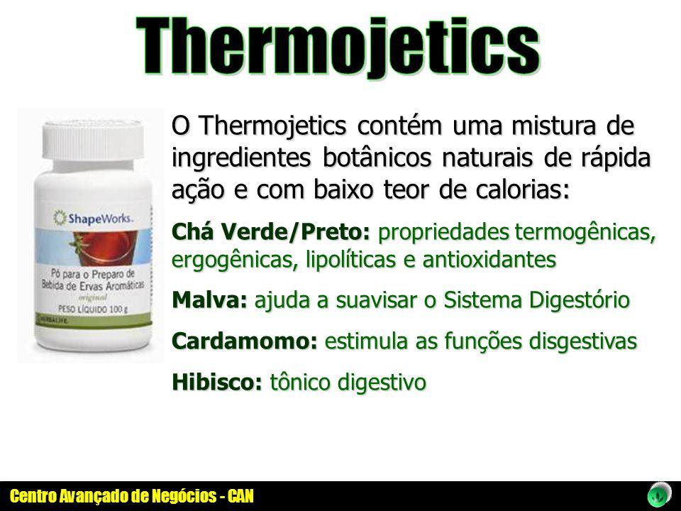 Thermojetics O Thermojetics contém uma mistura de ingredientes botânicos naturais de rápida ação e com baixo teor de calorias: