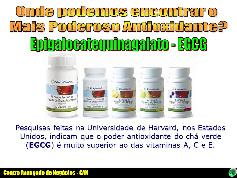 Onde podemos encontrar o Mais Poderoso Antioxidante