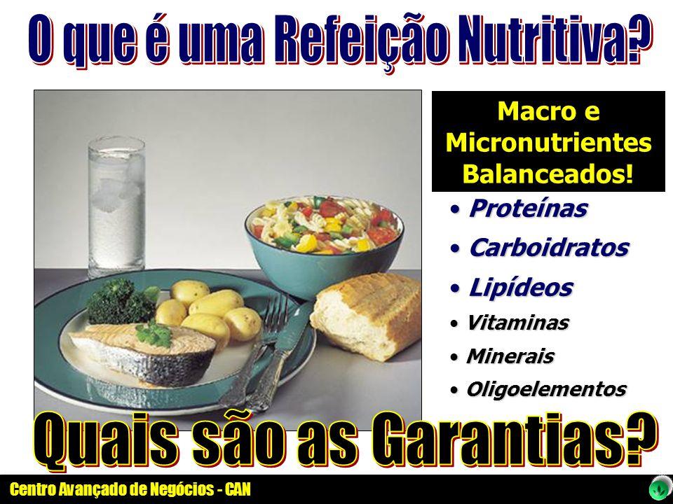 Macro e Micronutrientes Balanceados!