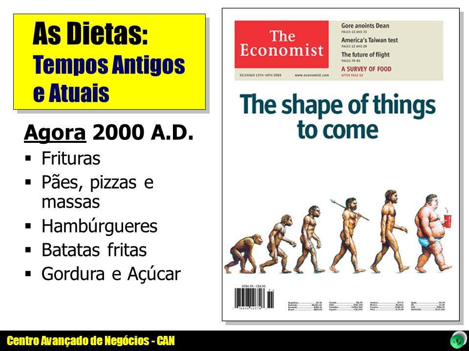 As Dietas: Tempos Antigos e Atuais