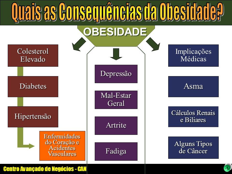 Quais as Consequências da Obesidade