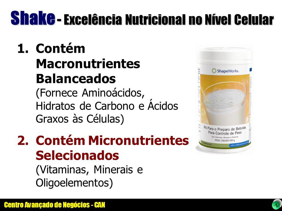 Shake - Excelência Nutricional no Nível Celular