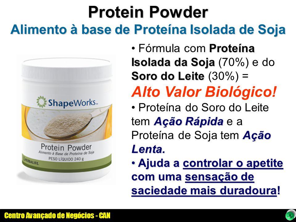 Alimento à base de Proteína Isolada de Soja