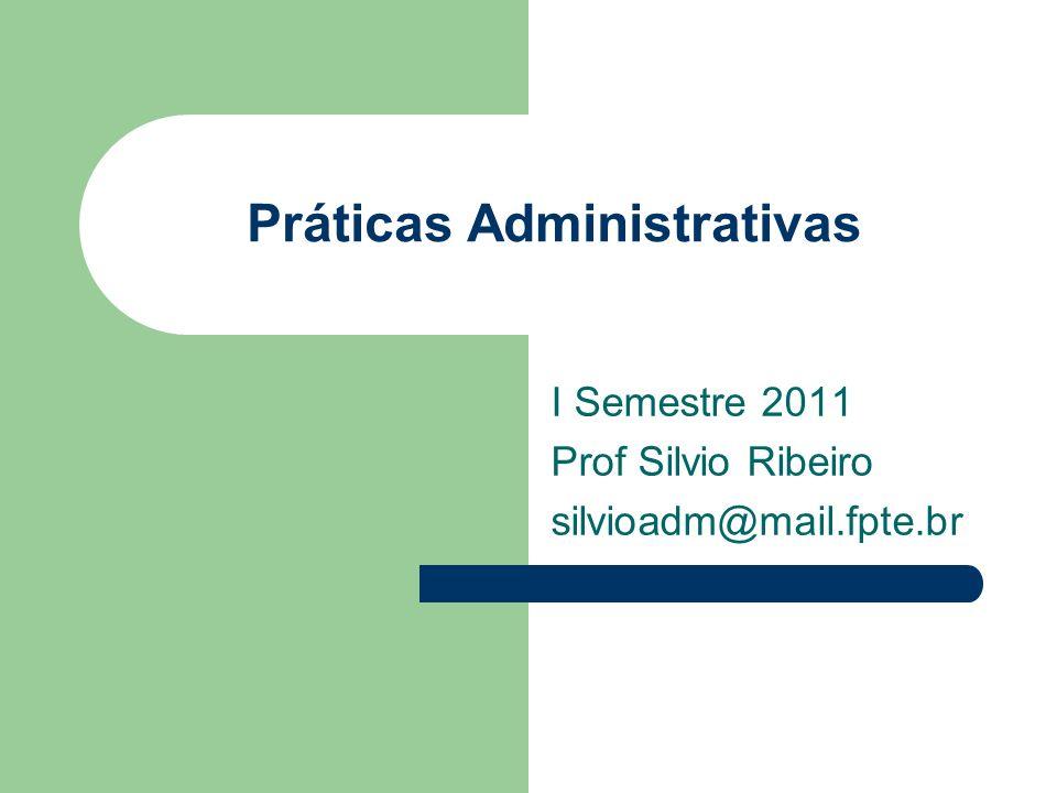 Práticas Administrativas