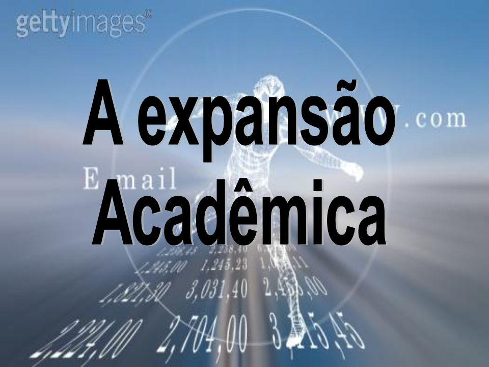A expansão Acadêmica