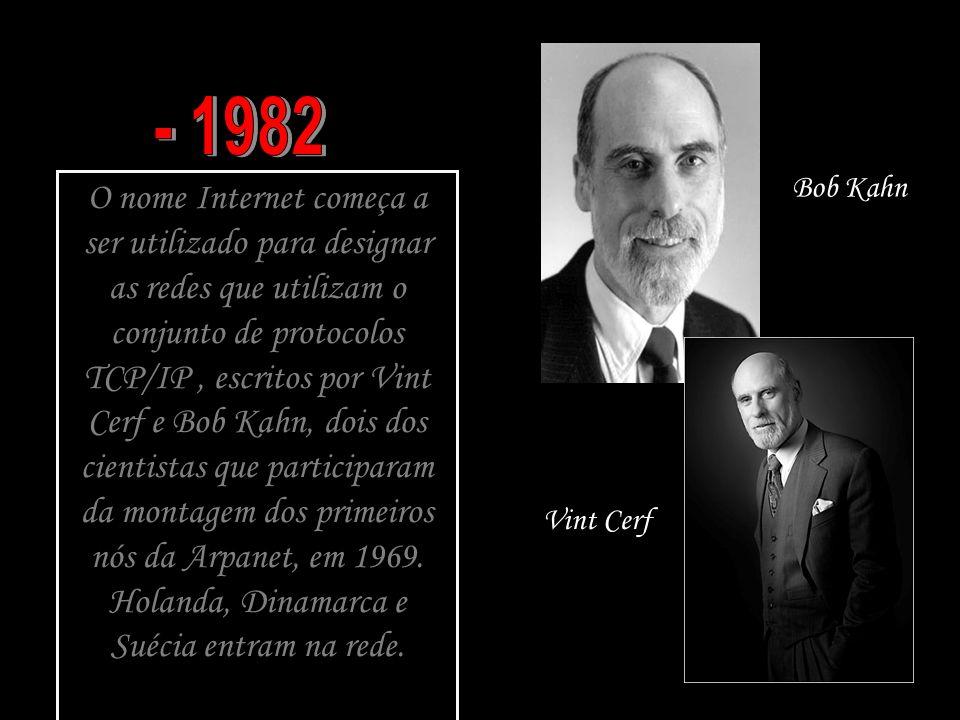 - 1982 Bob Kahn.