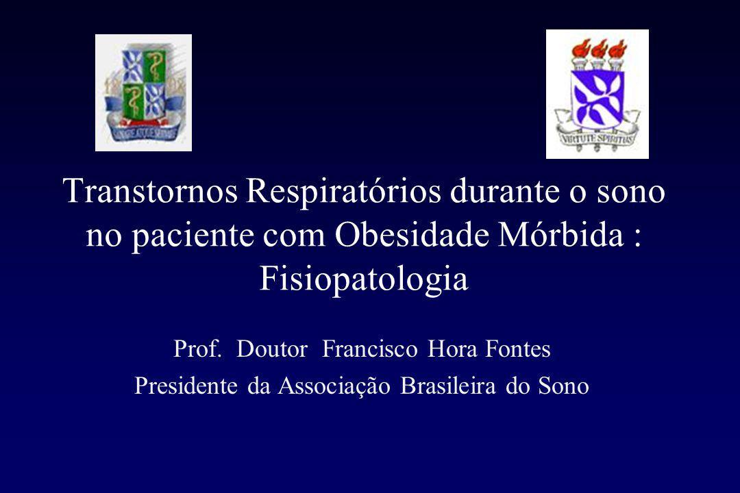 Transtornos Respiratórios durante o sono no paciente com Obesidade Mórbida : Fisiopatologia