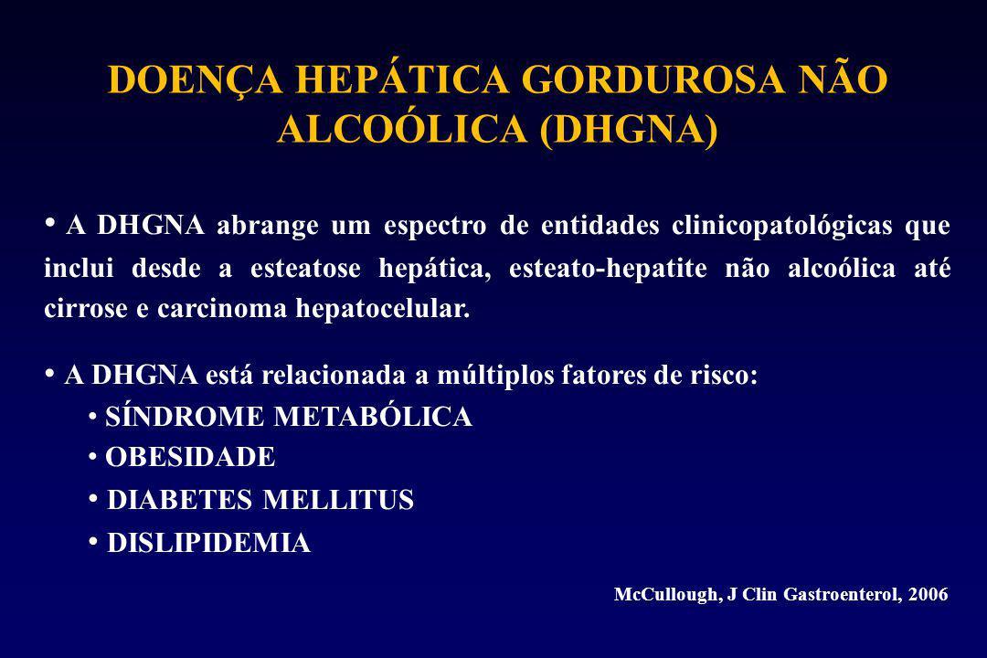 DOENÇA HEPÁTICA GORDUROSA NÃO ALCOÓLICA (DHGNA)