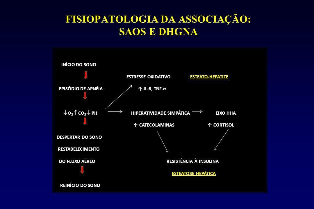 FISIOPATOLOGIA DA ASSOCIAÇÃO: SAOS E DHGNA