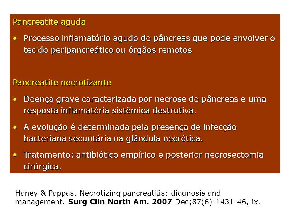 Pancreatite necrotizante