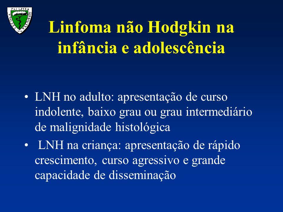 Linfoma não Hodgkin na infância e adolescência