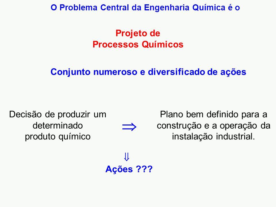 O Problema Central da Engenharia Química é o