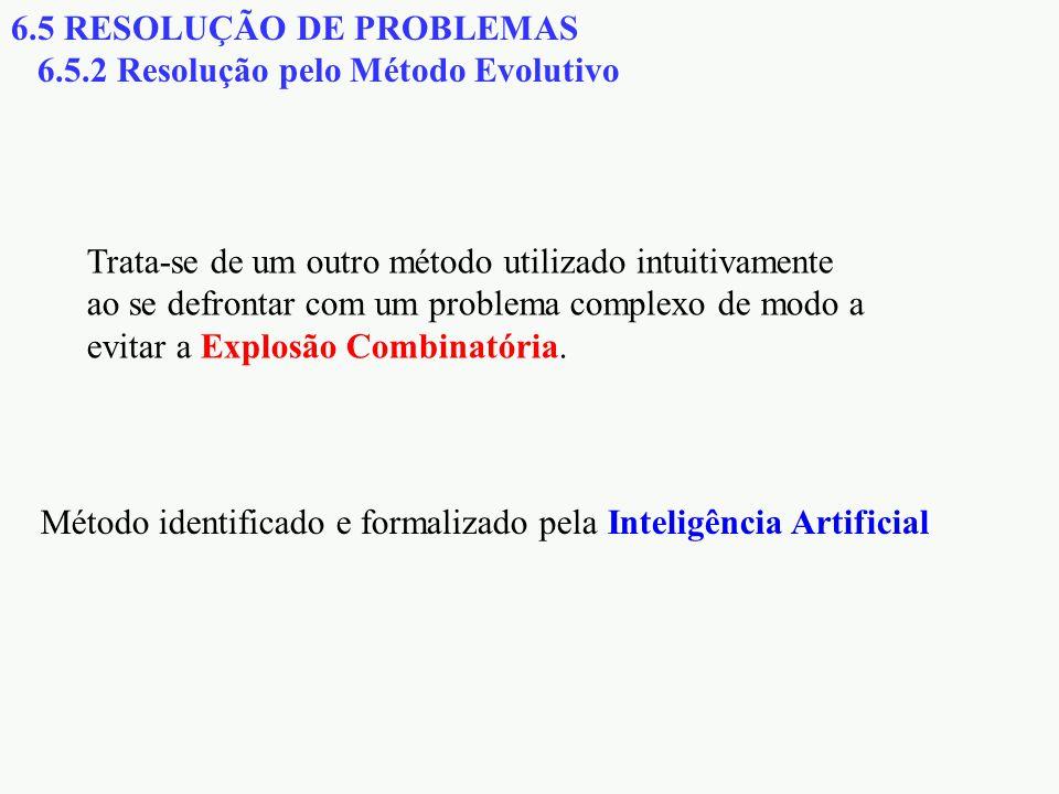 6.5 RESOLUÇÃO DE PROBLEMAS