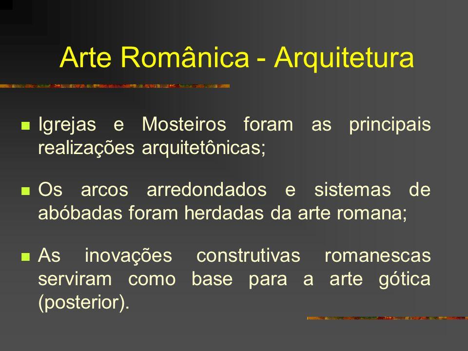 Arte Românica - Arquitetura