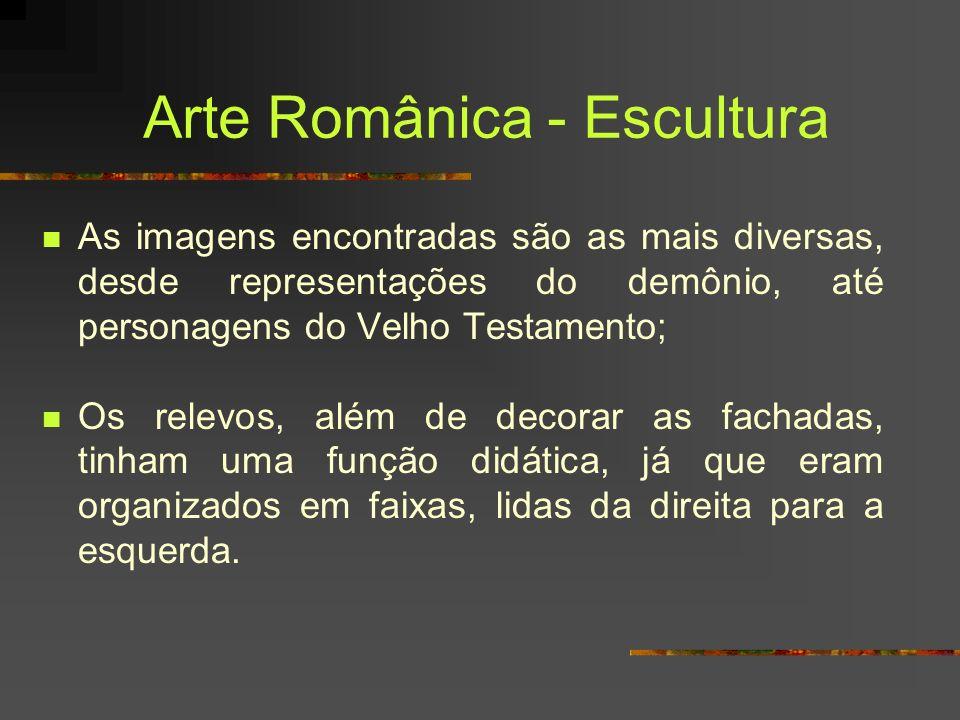 Arte Românica - Escultura