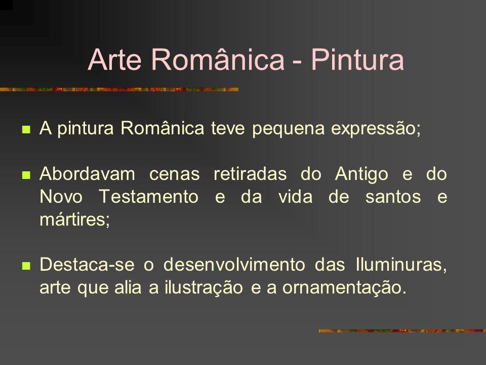 Arte Românica - Pintura