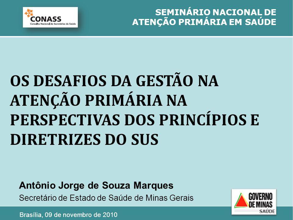 SEMINÁRIO NACIONAL DE ATENÇÃO PRIMÁRIA EM SAÚDE