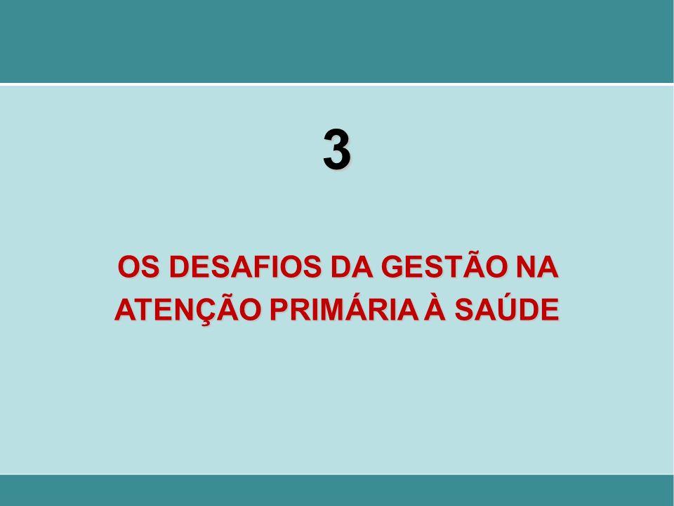 OS DESAFIOS DA GESTÃO NA ATENÇÃO PRIMÁRIA À SAÚDE