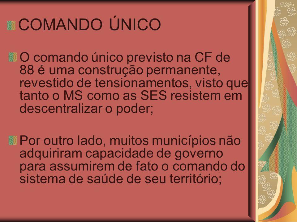 COMANDO ÚNICO