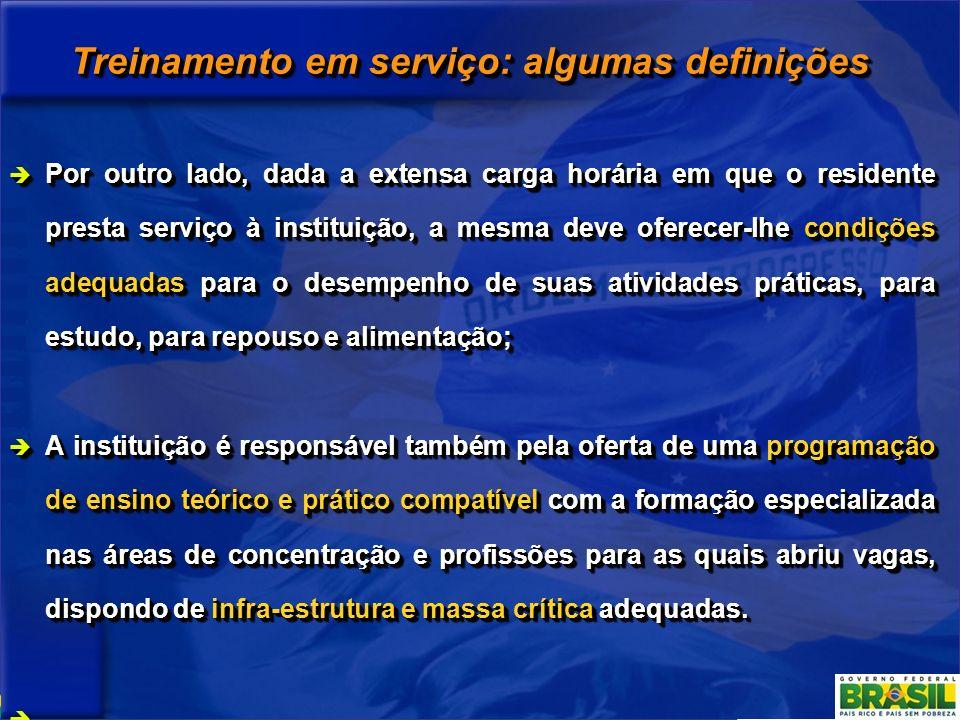 Treinamento em serviço: algumas definições