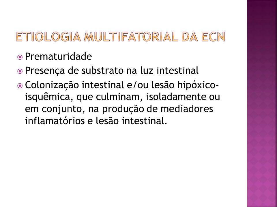 Etiologia multifatorial da ecn