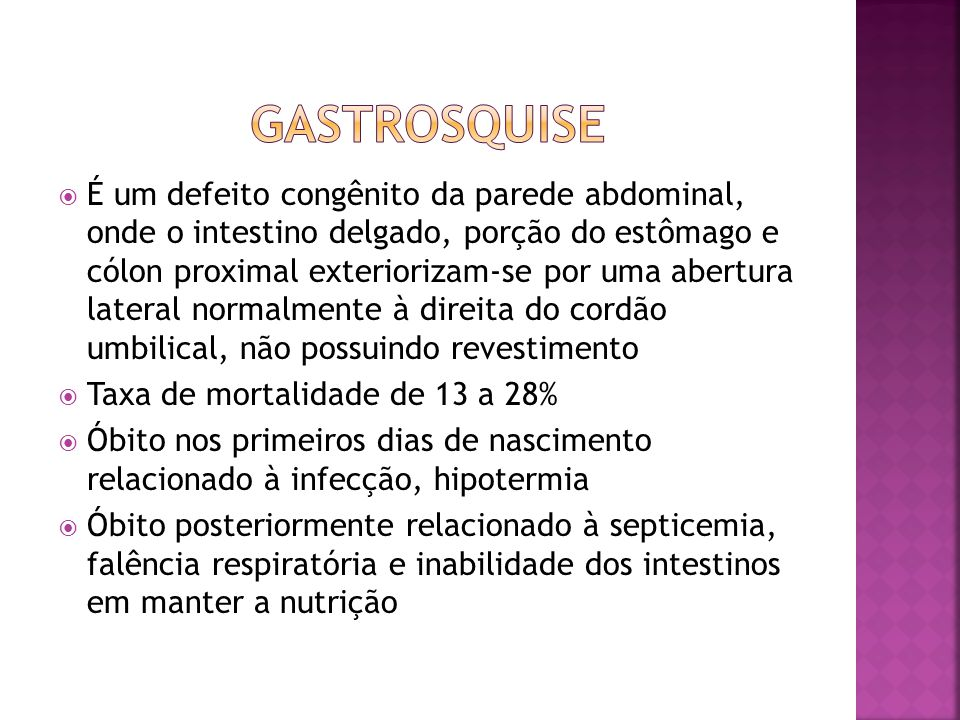 Gastrosquise
