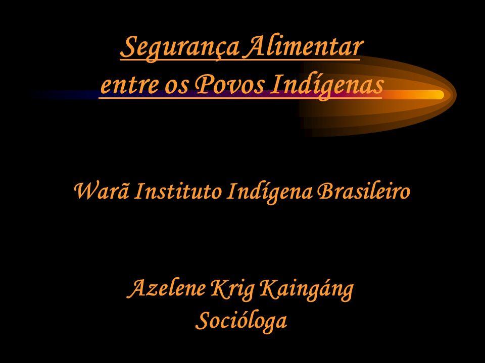 entre os Povos Indígenas Warã Instituto Indígena Brasileiro