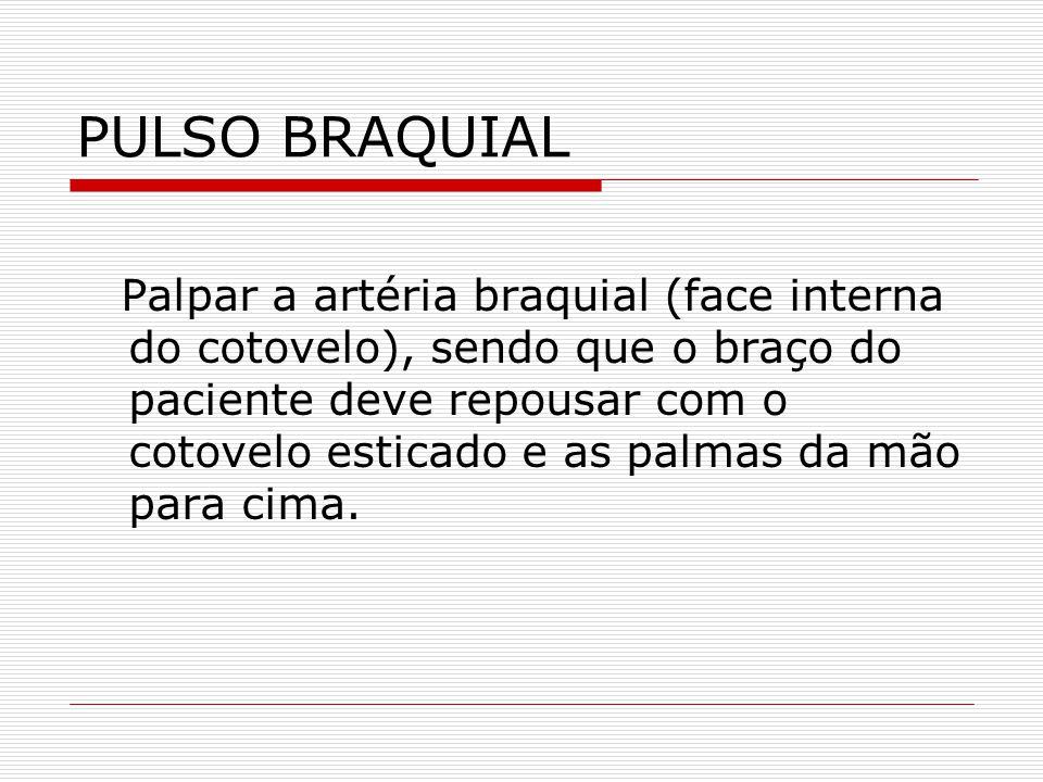 PULSO BRAQUIAL