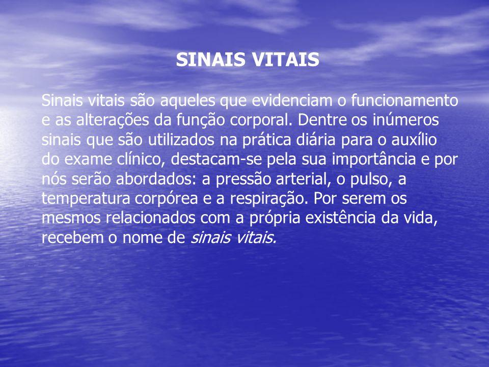 SINAIS VITAIS