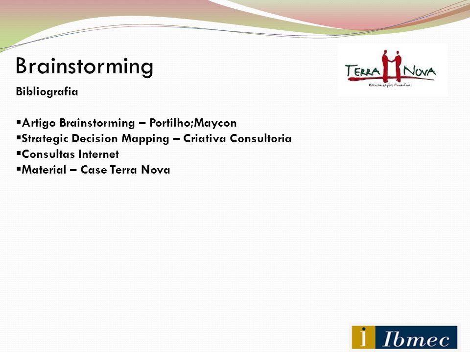 Brainstorming Bibliografia Artigo Brainstorming – Portilho;Maycon