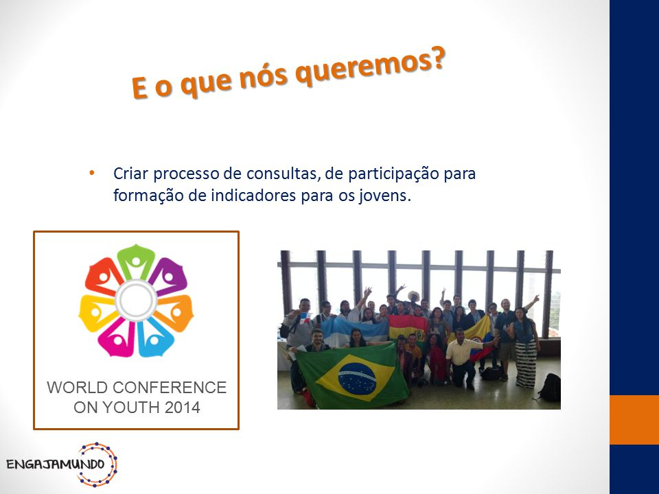 WORLD CONFERENCE ON YOUTH 2014