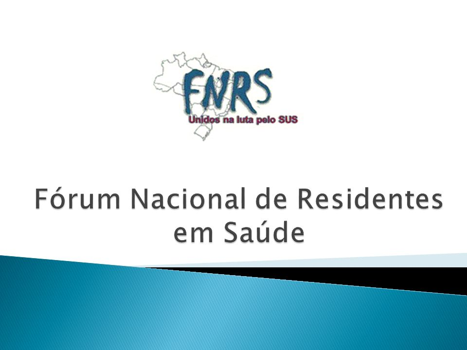 Fórum Nacional de Residentes em Saúde