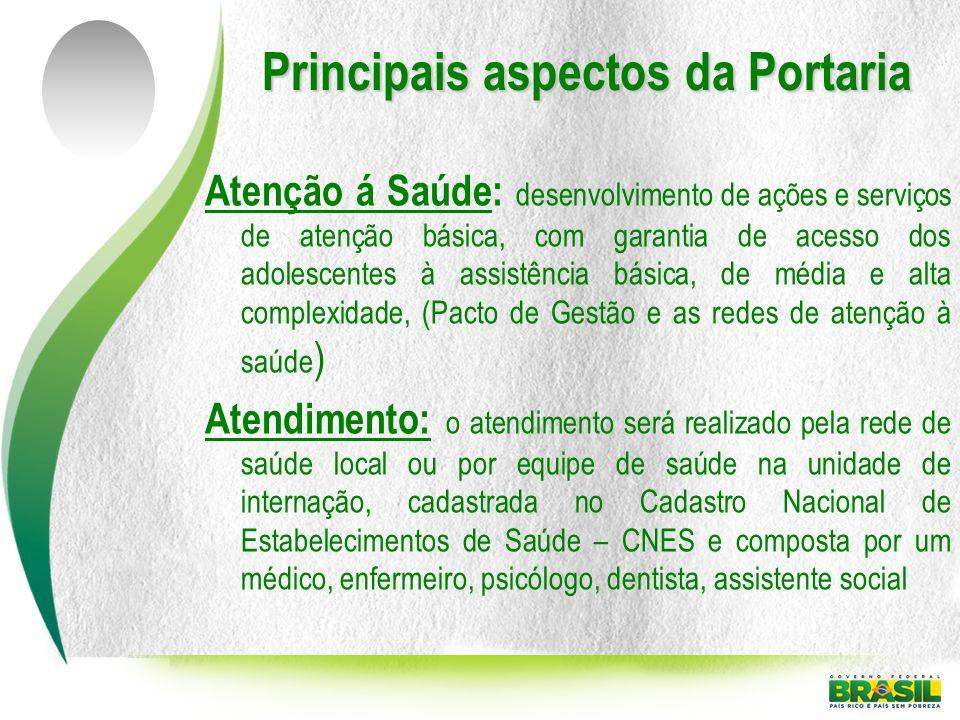 Principais aspectos da Portaria