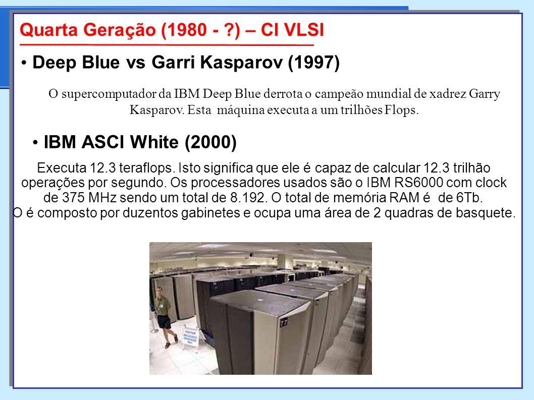 de 375 MHz sendo um total de 8.192. O total de memória RAM é de 6Tb.
