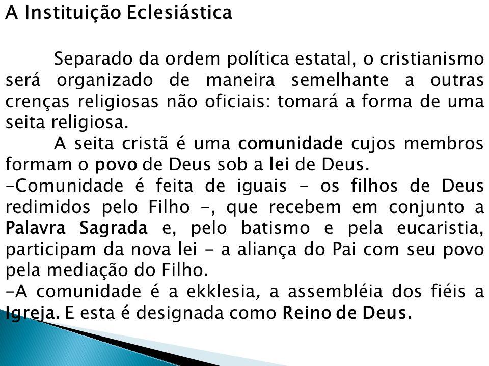 A Instituição Eclesiástica