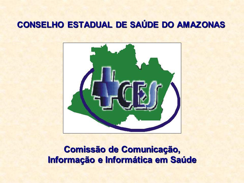 CONSELHO ESTADUAL DE SAÚDE DO AMAZONAS