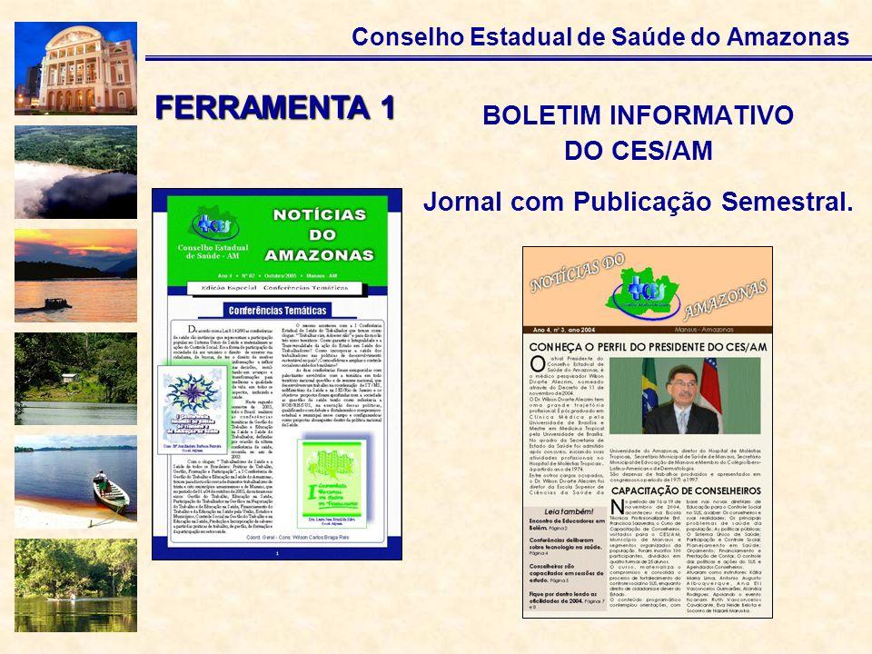 Jornal com Publicação Semestral.