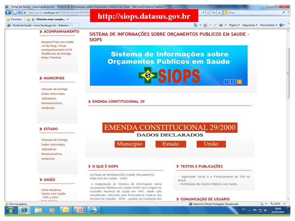 http://siops.datasus.gov.br