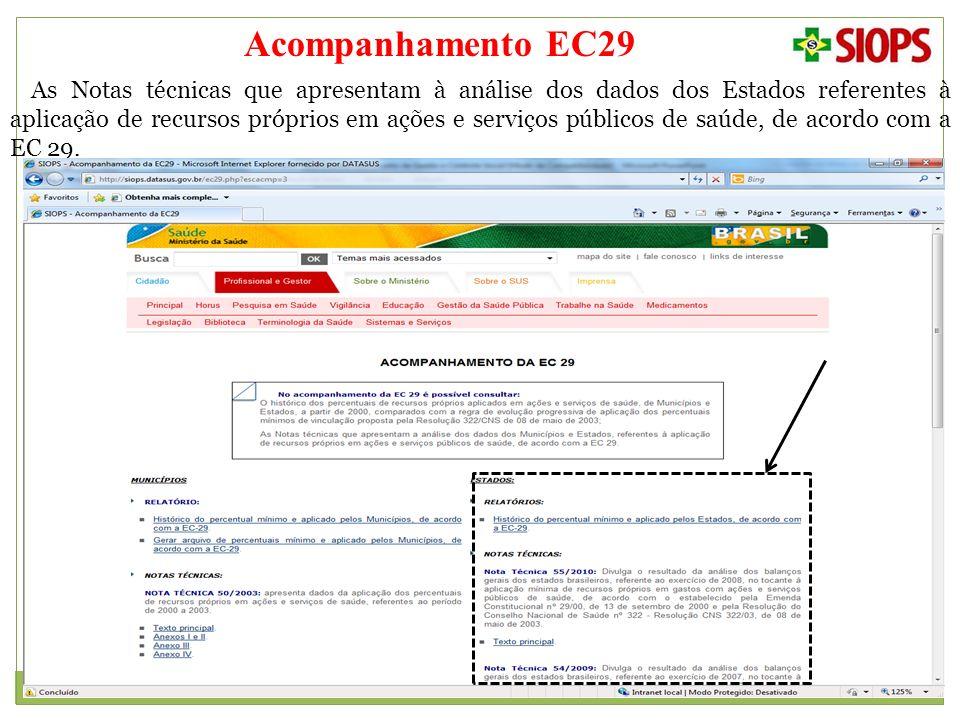 Acompanhamento EC29