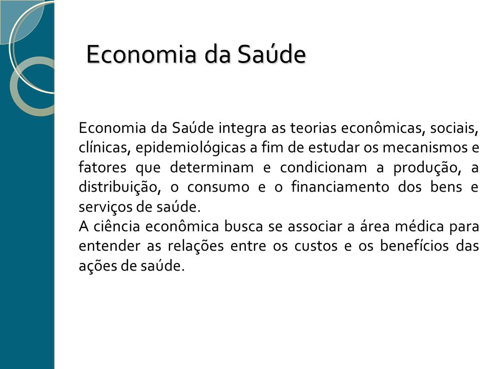 Economia da Saúde