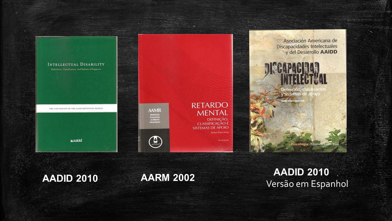 AADID 2010 AADID 2010 AARM 2002 Versão em Espanhol