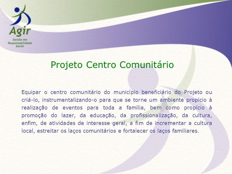 Projeto Centro Comunitário
