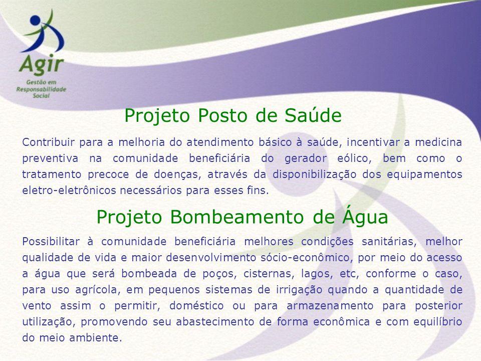 Projeto Bombeamento de Água