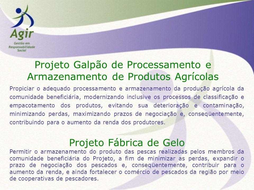 Projeto Galpão de Processamento e Armazenamento de Produtos Agrícolas