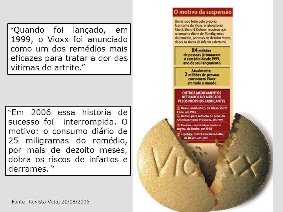 Fonte: Revista Veja: 20/08/2006
