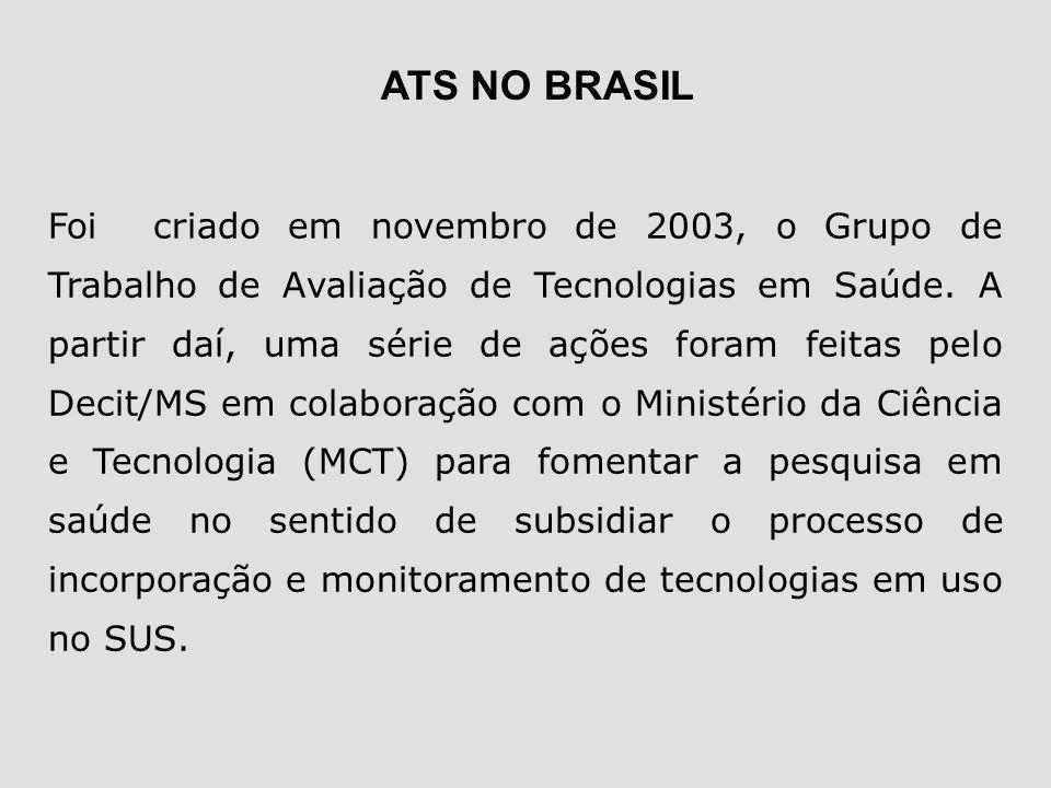 ATS NO BRASIL