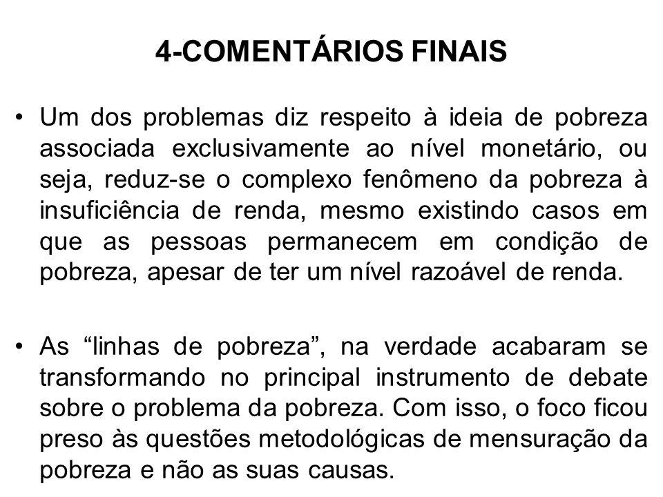 4-COMENTÁRIOS FINAIS