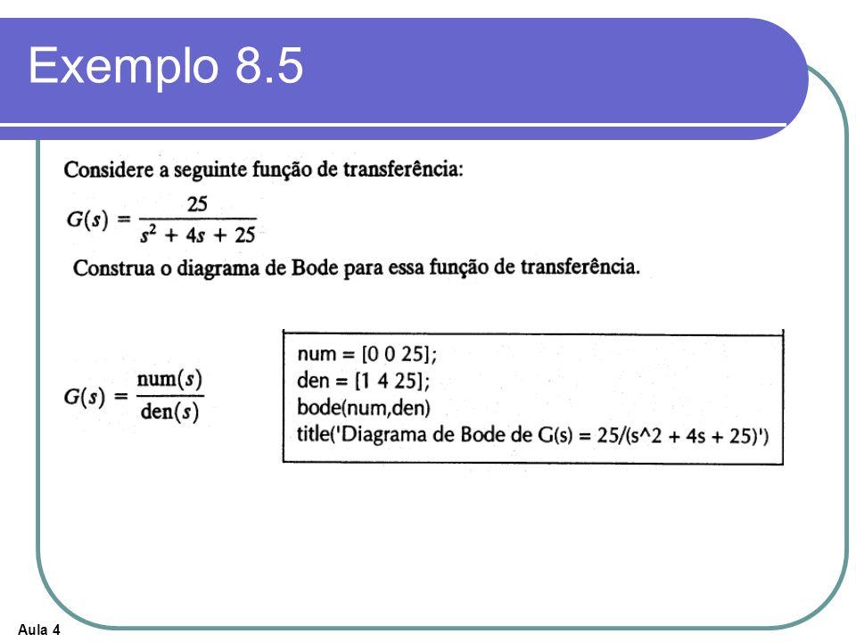 Exemplo 8.5