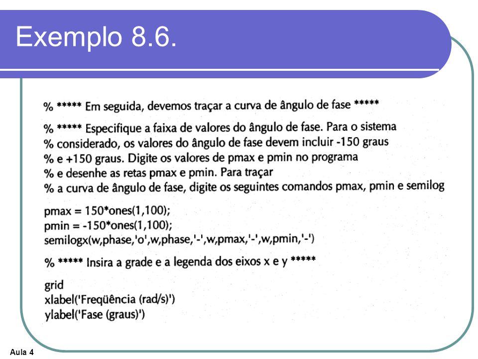 Exemplo 8.6.