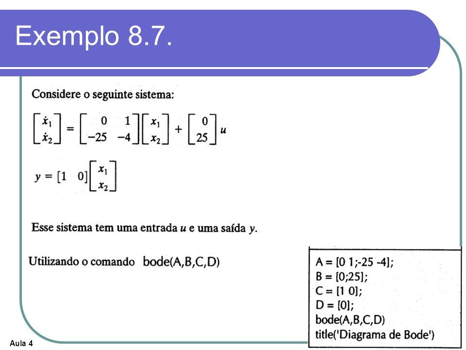 Exemplo 8.7.